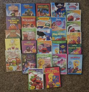28 Kids Dvds for Sale in Raleigh, NC