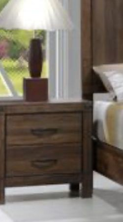 Queen bed frame. Dresser. Mirror. One night stand. Price firm for Sale in Pomona,  CA