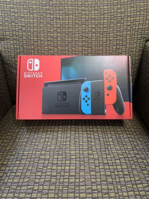 Nintendo Switch Neon Blue and Red for Sale in Raleigh, NC