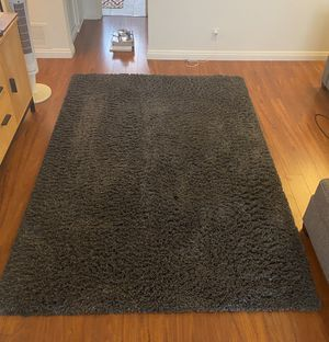 Thomasville Charcoal Grey/Blue Shag Rug for Sale in Los Angeles, CA