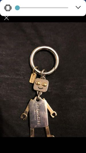 Coach keychain or bag charm for Sale in Rolla, MO
