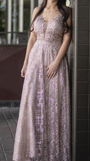 Rose Gold Prom Dress for Sale in Ceres, CA