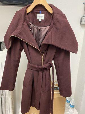 Cole Haan Burgundy Wool Coat for Sale in TERRA CEIA ISLAND, FL