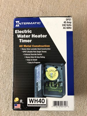 Electric water heater timer for Sale in Fort Lauderdale, FL
