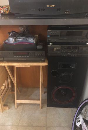 Stereo system stuff for Sale in Los Angeles, CA