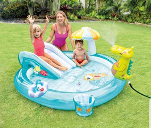 Gator Mini Pool with Slide for Sale in Dearborn, MI