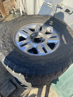 Stock 2008 Ford F-150 Wheels with toyo rts 35s for Sale in Baton Rouge, LA