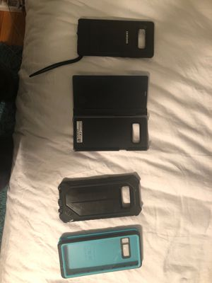 4 samsung note 8 cases for the price of 1 for Sale in Alexandria, VA