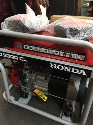 Honda Generator EG5000 CL for Sale in Lakewood, CA