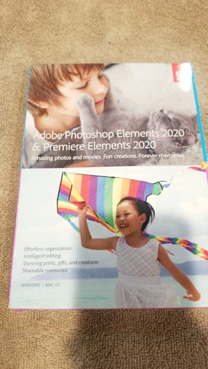 Adobe photoshop elements 2020 for Sale in Los Nietos, CA