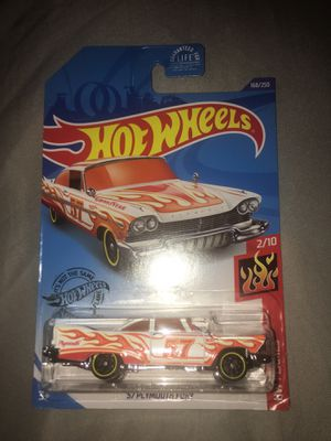 Hot wheels '57 PLYMOUTH FURY for Sale in Miami, FL