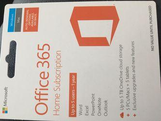 Microsoft office 365 subscription for Sale in Montesano,  WA