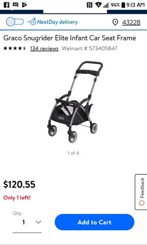 Infant car seat frame for Sale in Columbus, OH