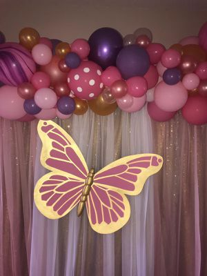 Paper Butterfly Birthday Party Decoration for Sale in Lakeland, FL