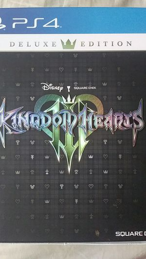 Kingdom Hearts 3 Deluxe Edition (PS4) for Sale in West Columbia, SC