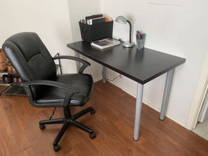 Study desk and chair and for Sale in Fort Worth, TX