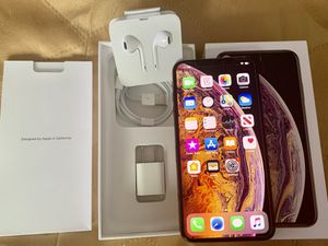 iPhone X Max 256 GB Gold Factory unlocked. for Sale in Tacoma, WA