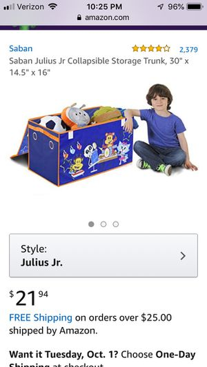 Storage trunk for toys for Sale in Ontario, CA