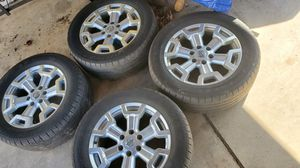 """20"""" Nissan Titan Wheels also fits Chevy for Sale in Vestal, NY"""