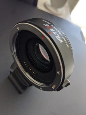 Viltrox Canon EF to Sony E mount Version 2 Adapter for Sale in Sacramento, CA
