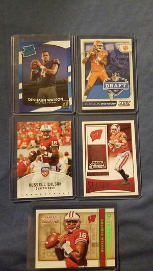 DeShaun Watson & Russell Wilson Rookie Lot!!! for Sale in Plainwell, MI