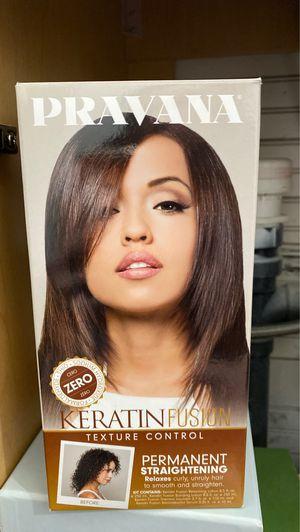 Pravana Keratin Fusion Permanent Straightening for Sale in Bothell, WA