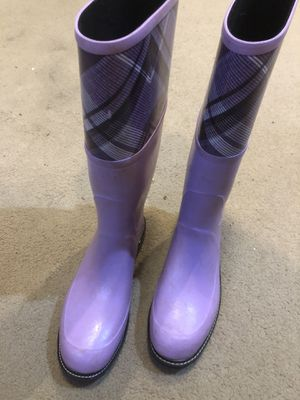 Ladies Maniera Rain boots size 7 like new for Sale in Salem, OR
