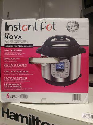 Instant Pot Nova for Sale in Dallas, TX