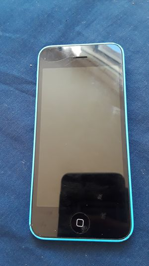 Iphone 5c blue for Sale in Adelphi, MD