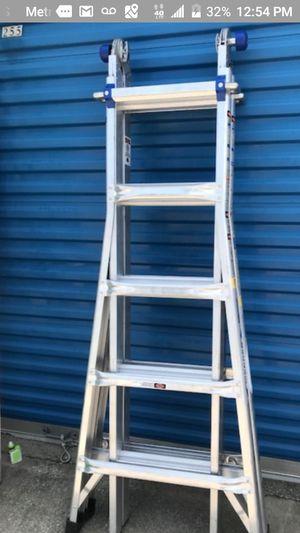 Werner mt-22 multi ladder for Sale in Everett, MA