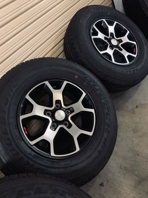 NEW Jeep Rubicon Wrangler Cherokee Wheels Rims Tires Rines 2020 for Sale in Los Angeles, CA