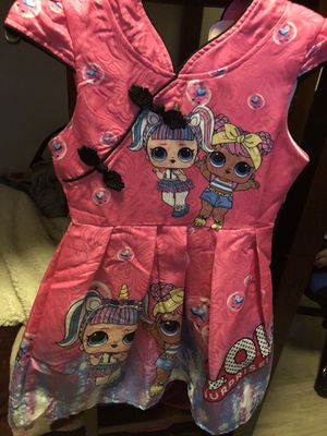 lol surprise vestido size 6T 💕💕 for Sale in San Diego, CA