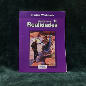Realidades 1 Practice Workbook for Sale in Los Angeles, CA