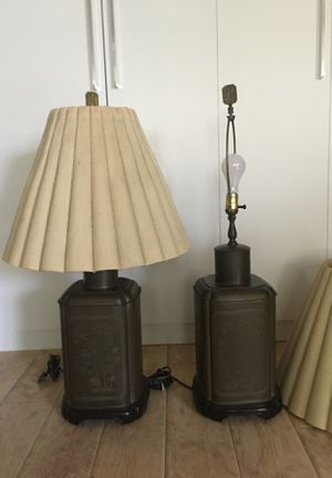Vintage Automax NY Table Lamp (2) for Sale in Los Angeles, CA