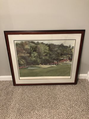Rights of spring ( Golf art work) for Sale in Westchester, IL