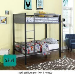 Bunk Bed Twin Over Twin for Sale in Buena Park,  CA