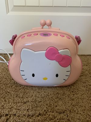 Hello kitty CD player for Sale in Oregon City, OR