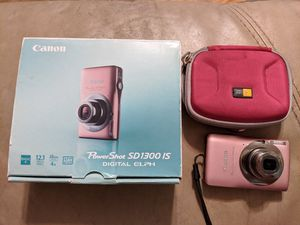 Canon PowerShot SD 1300 IS Digital Camera for Sale in Center Line, MI