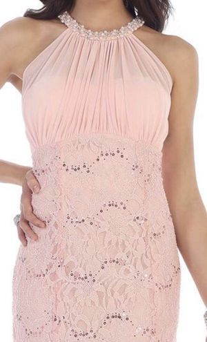 May couture blush prom dress for Sale in Lake Point, UT