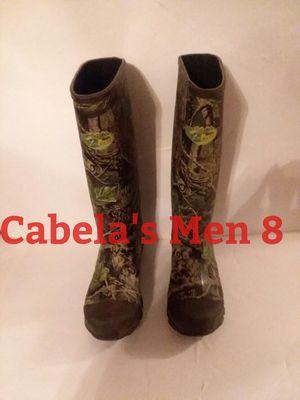 Cabela's Boots Size 8 Men for Sale for sale  Cumming, GA