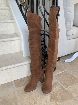 Forever 21 over the keen boots, boohoo for Sale in West Covina, CA