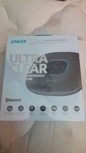 Tanker Ultra Clear Portable Conference Speaker Phone *NEW* for Sale in Lavonia, GA