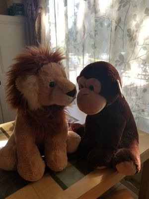 2 large stuffed animals for Sale in Mountain View, CA