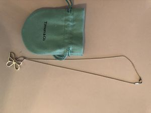 Tiffany & Co. charm butterfly necklace for Sale in Costa Mesa, CA