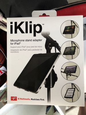 iKlip music mic stand iPad holder for Sale in San Diego, CA
