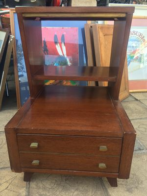 Kent Coffey Medalist Rare Vintage Antique Mid Century Nightstand Cabinet Drawer for Sale in National City, CA