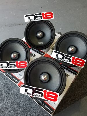 Ds18 Pro Audio Neo Extra loud and clear midrange voice speakers $70 each(1)/ Ds 18 Neo $70 cada una (1) for Sale in Houston, TX