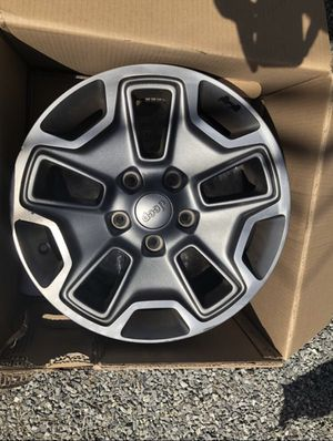 "17"" Jeep Rubicon Wheels for Sale in Buckley, WA"