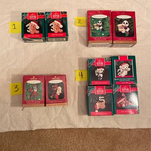 """Hallmark Ornaments """"Baby's Christmas"""" 1990-2000 for Sale in Lancaster, CA"""