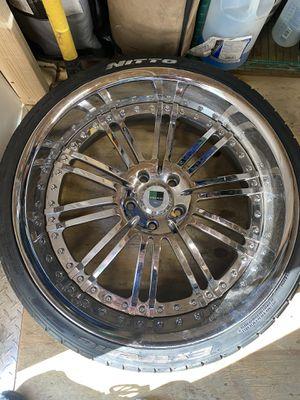 """22"""" Rims w Tires for Sale in Philadelphia, PA"""
